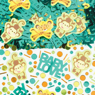 Baby Shower Table Confetti (FISHER PRICE BABY SHOWER CONFETTI (2.5oz) ~ Party Supplies Foil Table)