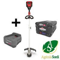 Snapper S Xdst82 Bordatore + Batteria Litio 82v 4ah + Carica Batteria Rapido -  - ebay.it