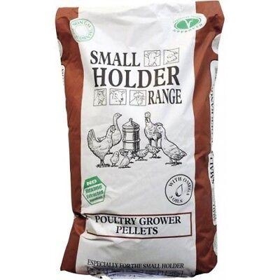 Allen & Page Small Holder Range Poultry Grower Pellets 20kg