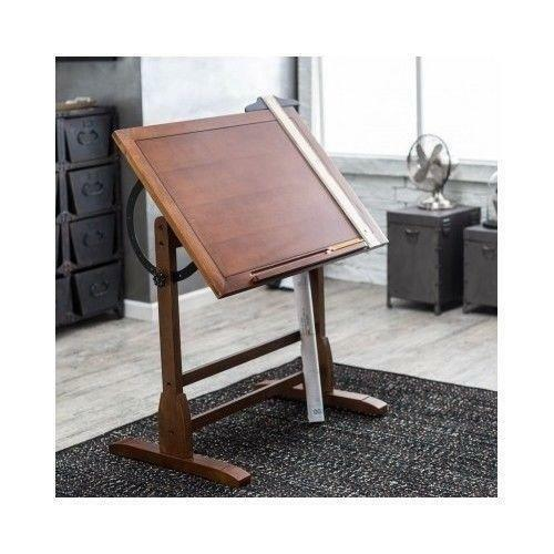 Wood Drafting Table Ebay