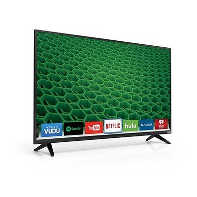 VIZIO D39H-D0 39-Inch 720p 120Hz Full Array LED Smart HDTV with HDMI and USB