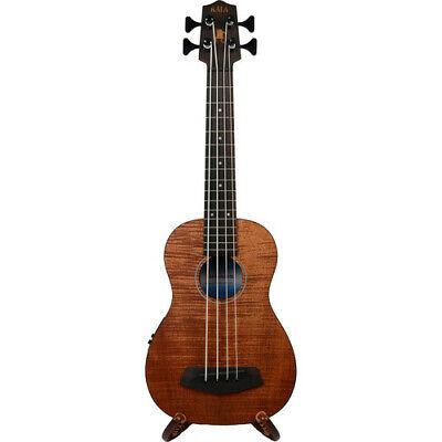 KALA UBASS-EM-FSRW Exotic Mahogany U-Bass Ukulele w Round Wound Strings (Satin) for sale  Shipping to United Kingdom