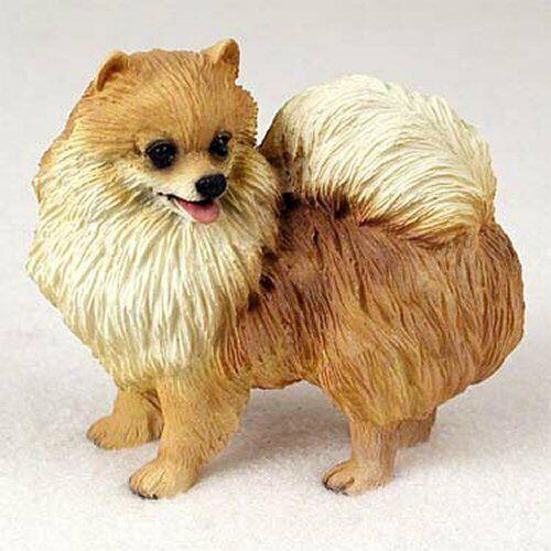 Pomeranian, Red, Dog Figurine, Standard Size