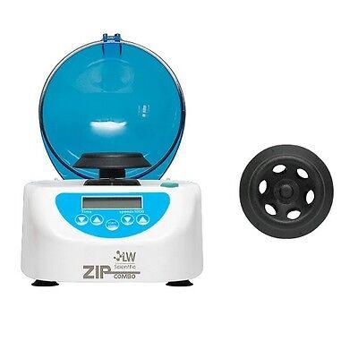 Lw Scientific Zipcombo Zipocrit Centrifuge W 6 Place Micro Rotor Zcc-06ad-02t3