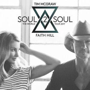 Lower Bowl Sec 120: Tim McGraw & Faith Hill - June 2nd, 7:30pm
