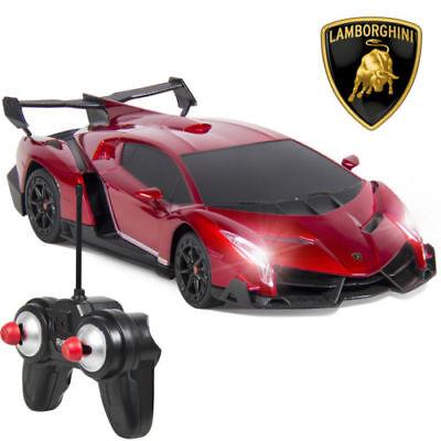 1 24 Officially Licensed Rc Lamborghini Veneno Sport Racing Car   Remote Control