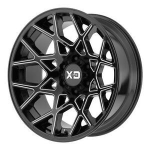 "XD KMC Wheels Ford F150 F250 F350 Ram Jeep Escalade Navigator Silverado Sierra Yukon Tahoe Titan Tundra Rim 17"" 18"" 20"""