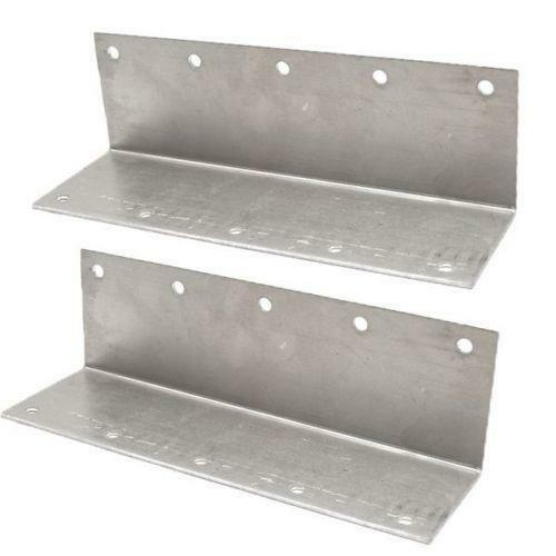 Galvanized Glass Clamps