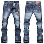 Mens Embroidery Jeans