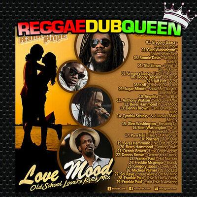 Ranking Pope - Love Mood Lovers Rock Mixtape. Reggae Mix CD. January 2020
