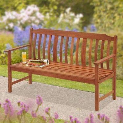 Highland 3-seat wooden bench