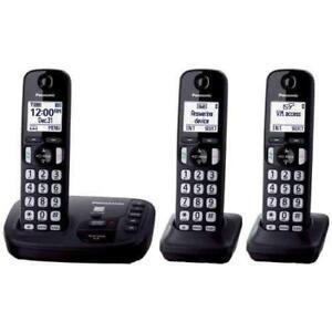 Panasonic KX-TG443CSK 2 Handset Cordless Phones - Open Box -$42.