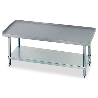 Equipment Stand With Undershelf 24x30