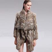 Brown Real Fur Coat
