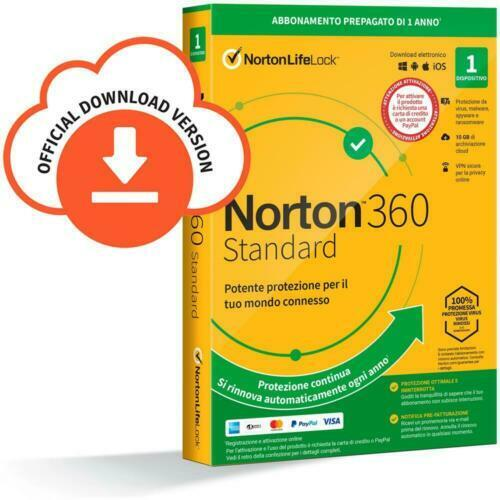 Norton 360 Standart 1 year (Windows, Mac)  -  Global Key | Fast Delivery