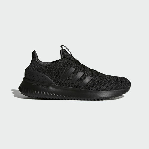 Mens Adidas NEO Cloudfoam Ultimate Black Sneaker Athletic Shoe BC0018 Sizes 8 13