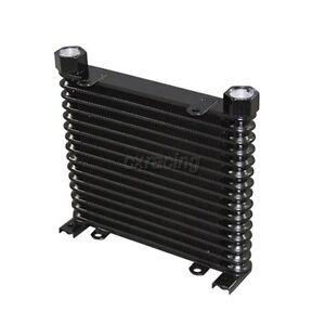 CXRacing Aluminum Oil Cooler 15 Rows NPT 3/4