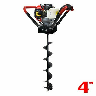V-type 55cc 2 Stroke Gas Post Hole Digger One Man Auger 4 6 8 10 12 Inch Bit