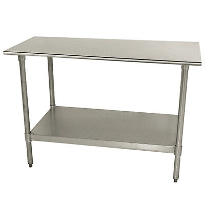 Central Exclusive Tts308x Stainless Steel Work Table - 96wx30d