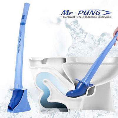 MR-PUNG Instant Bathroom Toilet Drain Blockage Unclogger Plunger - CO2 Excluded