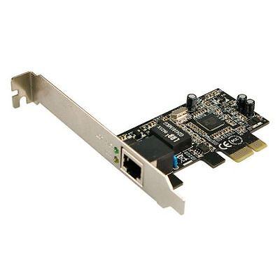 GIGABIT ETHERNET PCI EXPRESS CARD NETZWERKKARTE ADAPTER 1000 MBIT CONTROLLER LAN