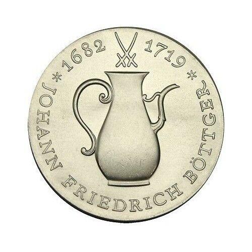 elf East Germany 10 Mark 1969 Silver Bottger Porcelain