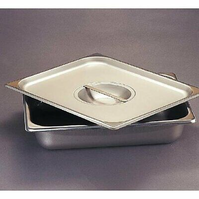 Polar Ware Stainless Steel Instrument Tray With Cover 12 14 X 7 45 X 2 15 New