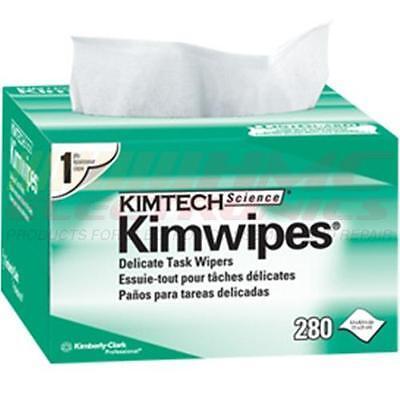 Kimwipes Kim Wipes Lintfree Cloth Task    Box Of 280 Kimberly Clark