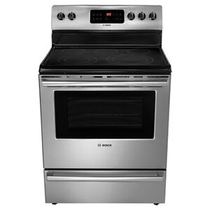 "Bosch Stove for Sale - 30"" 5.4 Cu. Ft. Self-Clean Smooth Top"