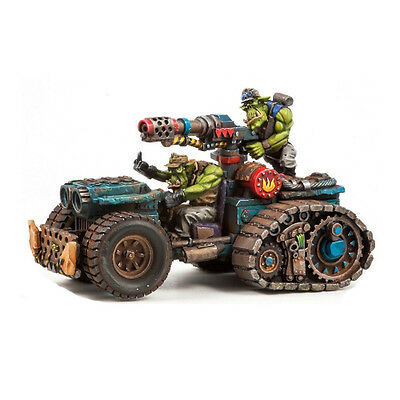 Ork War2 Halftrack with Flamer Kettenbuggy Kromlech