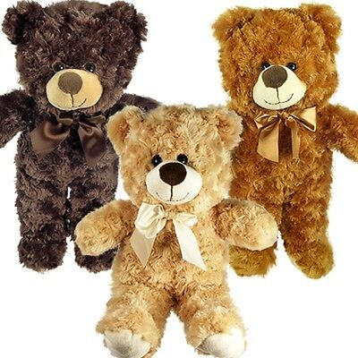 Plush Teddy Bear Assortment 15 inches w/ Button Eyes (Pack of 12X)