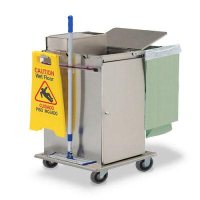 Royce Rolls Mp30e Stainless Steel Mini-size Microfiber Housekeeping Cart