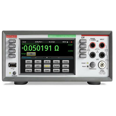 Keithley Dmm6500 6 12-digit Touchscreen Benchproduction Dmm