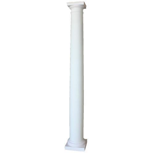 Fiberglass columns ebay for Decorative fiberglass columns