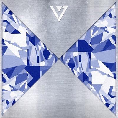 Seventeen-[17 Carat]1st Mini Album CD+Folding Lyrics Poster/On+13p PostCard+Gift