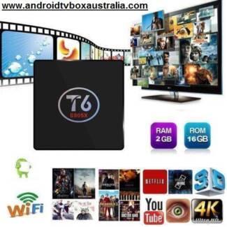 T6 Android 7.1 2/16gb latest Kodi Smart media player S905X TV BOX