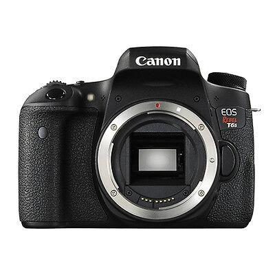 Canon EOS Rebel T6s Digital SLR Camera Body 24.2 MP Wi-Fi Brand New