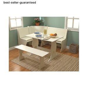 corner dining set breakfast nook bench chair kitchen booth furniture table seat. Black Bedroom Furniture Sets. Home Design Ideas