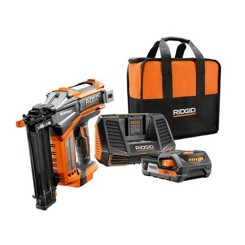RIDGID Brad Nailer Hyperdrive 18V 18-Gauge 2-1/8 in. Brushle