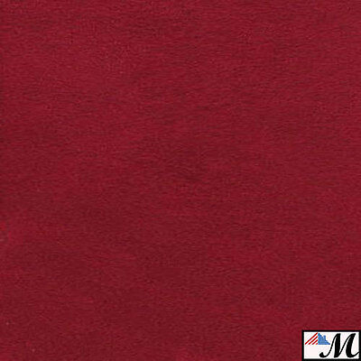 Microsuede SCOTCHGARD RED Suede Fabric Upholstery 58