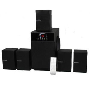 5.1 Speaker System Home Theater Multimedia Surround Sound New TS509