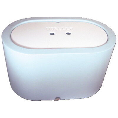 Light Blue 26 Gallon Oval Livewell or Bait Tank for Boats