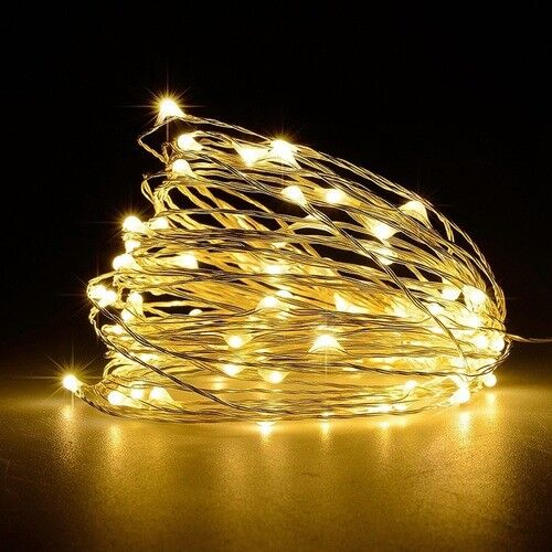 20/30/40/50/100 LED String Copper Wire Fairy Lights Waterproof Battery Powered