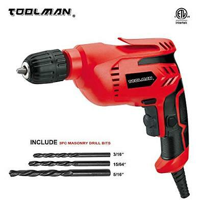 Toolman Electric Power Drill Driver 3/8