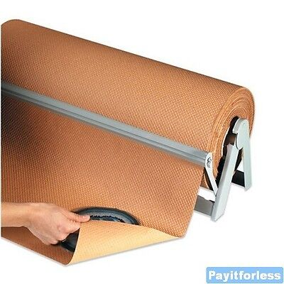 18 X 300 Kraft 60 Indented Kraft Wrapping Void Fill Paper Wrap 1 Roll