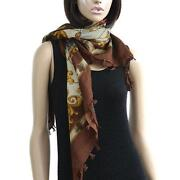 Coach Scarf Brown