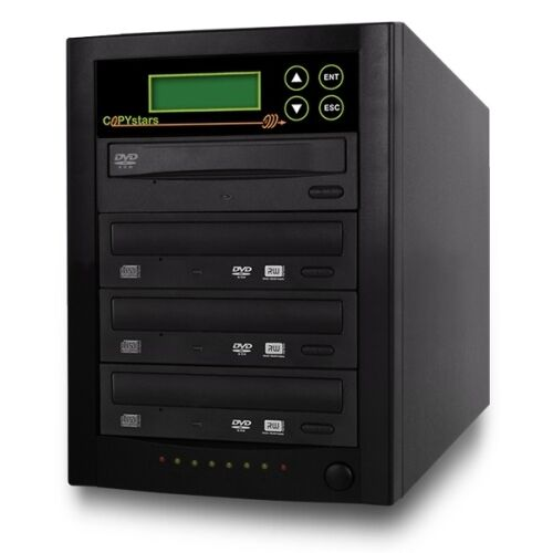 Copystars CD DVD Duplicator 1-3  Mdisc support 24X duplicators SATA tower New