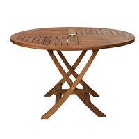 Teak Round Folding Table - TR48-M63