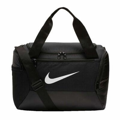 Gym Bag Nike Brasilia Training Duffel [ size: XS ]  Holdall Gymbag BLACK NEW
