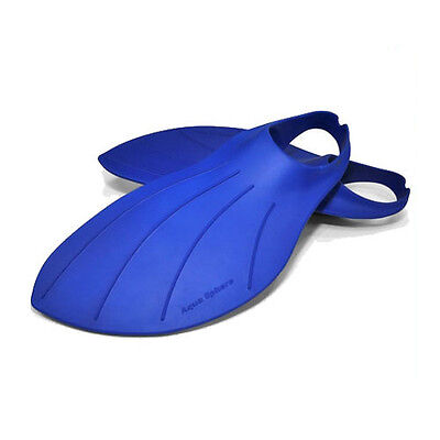 Aqua Sphere Mens Alpha Fins for Swim Training in Blue UK Sizes 2-14 (EU 33-48) Alpha Swim Fin